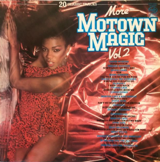V/A - More Motown Magic Volume Two (LP) (VG/G++)